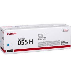 Toner cian Canon 055h c - 5900 páginas - compatible según especificaciones 3019C002 - CAN-TN 3019C002