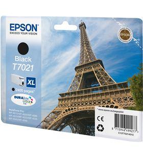 Epson -T70214010 cartucho tinta negro t7021xl - 45.2ml - torre eiffel - para wp-4595 / c13t70214010 - EPS-T70214010