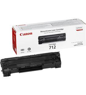 Canon -C712 cartucho toner negro para lbp-3010 y 3100 1870b002 - CAN-C712