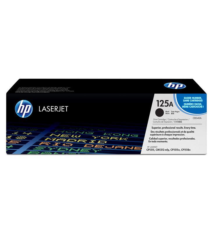 Toner negro Hp nº 125 para laserjet cp1215/1515/1518/1515n/1312nf/1312nfi CB540A - CB540A