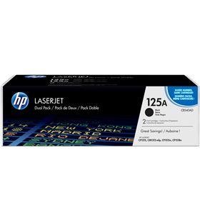 Toner negro Hp nº125a 2unidadesx2200paginas para laserjet serie cp1210/cp15 CB540AD - CB540AD