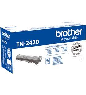 Toner negro Brother TN2420 - 3000 páginas - compatible según especificacion - BRO-TN-2420