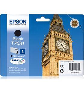 Cartucho tinta negro l Epson t7031 - 24ml - big ben - para wp-4595 dnf/dtwf C13T70314010 - EPS-T70314010