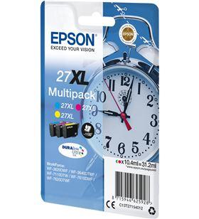 Cartucho tinta Epson multipack 27xl - amarillo / cian / magenta - 31.2ml - C13T27154012 - EPS-C13T27154012