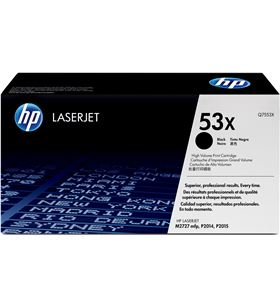 Toner Hp negro p2015 series 7000 páginas Q7553X Fax digital cartuchos - Q7553X