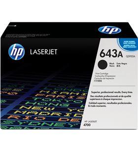 Toner negro Hp 643a 11000 páginas para laserjet 4700 Q5950A - Q5950A