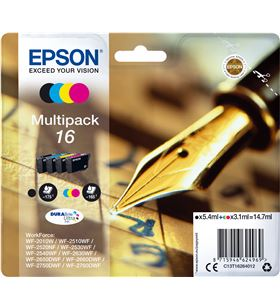Cartucho tinta Epson C13T16264012 pack 4 (bolígraf - C13T16264012