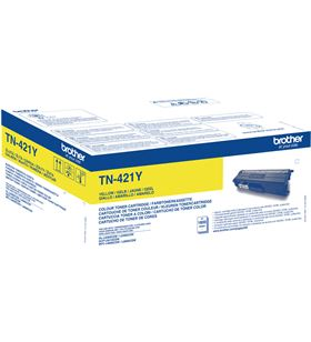 Toner amarillo Brother TN421Y - 1800 páginas - compatible según especificac - 36004915_6439892097