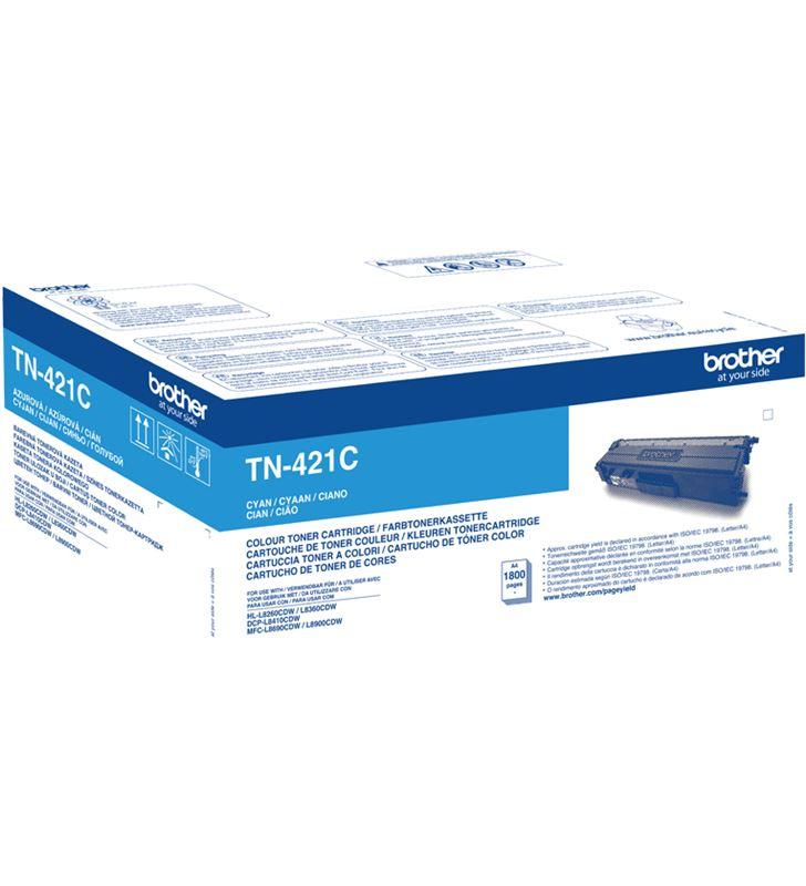 Brother -TN-421C toner cian tn421c - 1800 páginas - compatible según especificacione - 36004883_0623629080