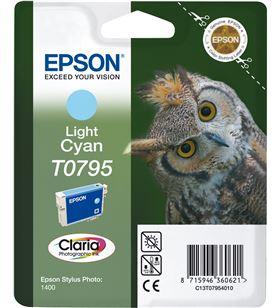 Cartucho tinta Epson C13T07954010 cián claro (búh) - C13T07954010