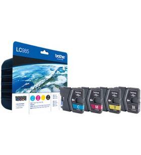 Cartucho tinta Brother 4 colores LC985VALBP Fax digital cartuchos - LC985VALBP