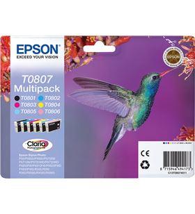 Cartucho tinta Epson pack 4u c13t8074010 C13T08074011 - C13T08074010