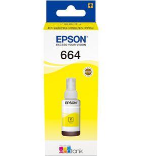Botella tinta recargable Epson t6644 para ecotank amarillo C13T664440 - EPSC13T664440