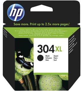Cartucho de tinta Hp nº 304xl negro N9K08AE Fax digital cartuchos - 0889894860835