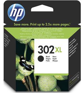 Cartucho tinta Hp 302xl negro F6U68AE Fax digital cartuchos - F6U68AE