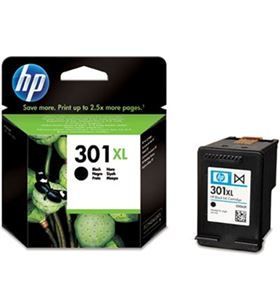 Tinta negra Hp 301 xl 1050/2050/3050 HEWCH563EE Fax digital cartuchos - 884962894453