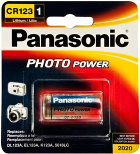 Pila foto litio cr123 Panasonic CR_123AL_1BP Ofertas varias - PANCR_123AL_1BP