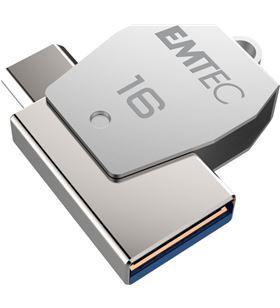Pendrive Emtec t250b dual usb 2.0 / micro usb 16gb E159052 - EMTE159052