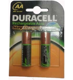 Duracell pack 2 pilas recargables aaa (lr 03) duralock 800 aa(lr06)b2-sc - 500039420384