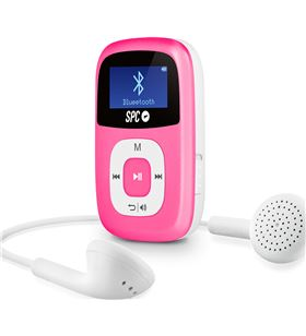 Spc reproductor mp3 scp 8668 firefly 8gb bluetooth rosa 8668p - SPC8668P