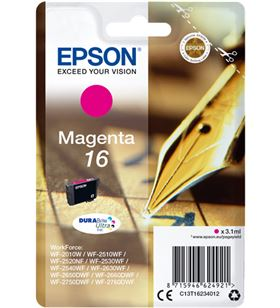 Tinta Epson magenta durabrite 16 EPSC13T16234012 Fax digital cartuchos - EPSC13T16234012