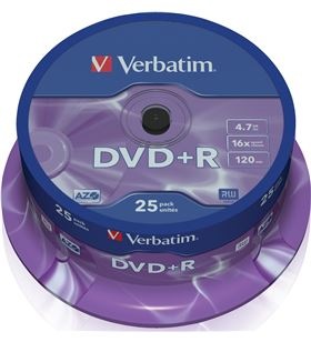 Verbatim verdvdmasr_25 DVD y DVD Grabador - 023942435006