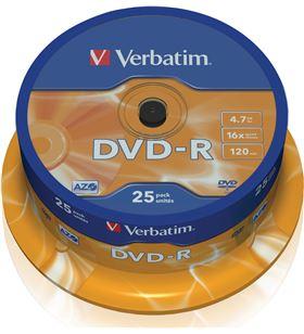 Verbatim verdvdmenosr_25 DVD Grabador - 023942435228