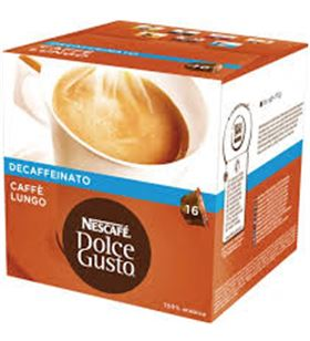 Nestle bebida dolce gusto caffe lungo descafeinado 112g nes12062868