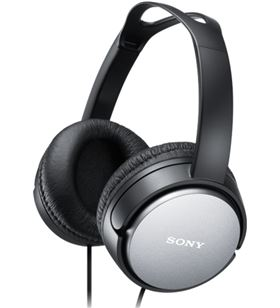 Auriculares Sony mdrx150b negro (diadema) SONMDRXD150B - 4905524928846