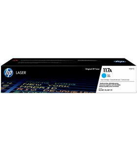 Toner cian Hp W2071A - nº117a - 700 páginas - compatible según especificaci - W2071A
