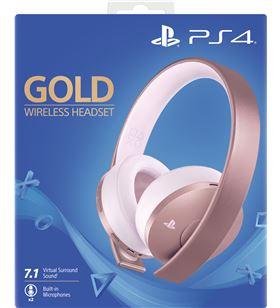 Auriculares inalámbricos Sony rose gold - 7.1 virtual - incluye conector 3 9969600 - SONY-AUR PS4 9969600