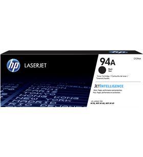 Toner negro Hp nº94a - 1200 páginas - compatible con laserjet pro m118dw / CF294A - CF294A
