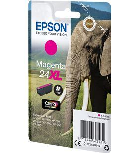 Cartucho Epson 24xl magenta - 8.7ml - elefante C13T24334012 - EPS-C13T24334012
