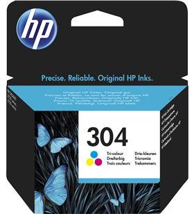 Cartucho color Hp nº304 - 100 páginas - para deskjet 3720/2630 N9K05AE - HEWN9K05AE