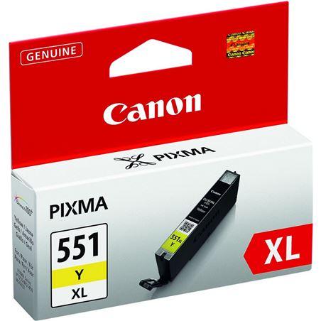 Cartucho de tinta amarillo Canon cli-551y xl mg6350/mg5450 6446B001 - CLI-551Y XL