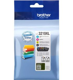 Pack 4 cartuchos de tinta Brother lc3219xl - negro/cian/magentaire acondicionado marillo - LC3219XLVAL - BRO-C-LC3219XL