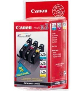 Cartucho tinta Canon cli-526 multipack color 4541b 4541B009 - 4541B009