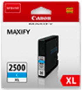 Cartucho de tinta cian Canon pgi-2500xl - 19.3ml - compatible según especif 9265B001 - CAN-PG-2500 CIAN XL