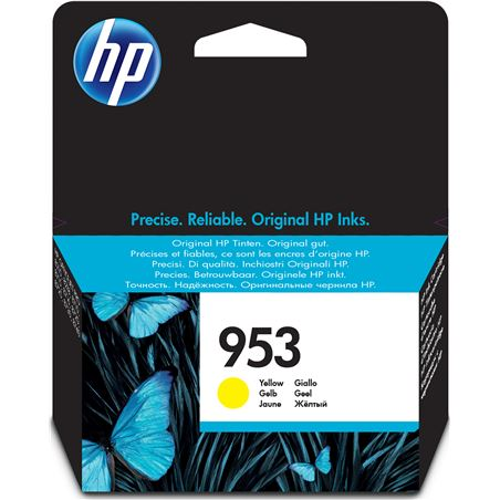Cartucho amarillo Hp nº953 - 700 páginas - compatible con all-in-one office F6U14A - F6U14A