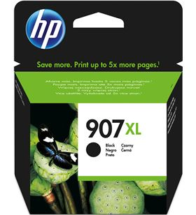 Cartucho negro Hp nº907xl - 1500 páginas - compatible con officejet pro 696 T6M19AE - T6M19AE