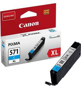 Cartucho de tinta cian Canon cli-571xl - 11ml - compatible según especifica 0332C001 - CAN-CLI-571C XL