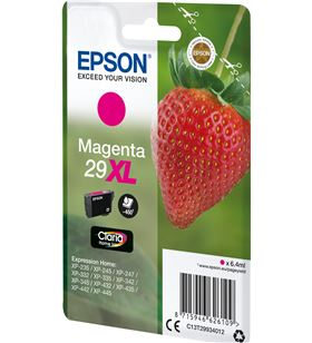 Cartucho magenta Epson 29xl claria home - 6.4ml - fresa C13T29934012 - EPS-C13T29934012