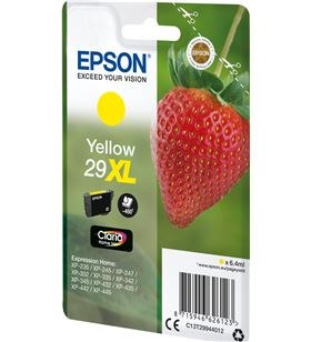 Cartucho amarillo Epson 29xl claria home - 6.4ml - fresa C13T29944012 - EPS-C13T29944012