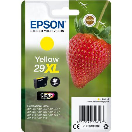 Cartucho amarillo Epson 29xl claria home - 6.4ml - fresa C13T29944012 - EPS-C13T29944012