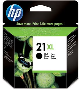 Cartucho negro Hp nº21xl 12ml para Hp deskjet 3920/3940/d1460/f2180/f380 of C9351CE - C9351C