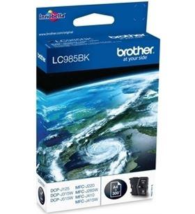 Cartucho tinta Brother lc-985 v2 300 páginas negro LC985BK - BRO-LC985BK V2