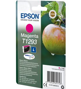 Cartucho tinta Epson magenta t1293 - 7ml - manzana C13T12934012 - EPS-C13T12934012