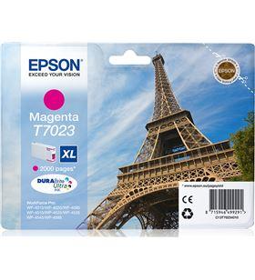 Cartucho tinta magenta Epson t7023xl - 45.2ml - torre eiffel - para wp-4595 C13T70234010 - EPS-T70234010