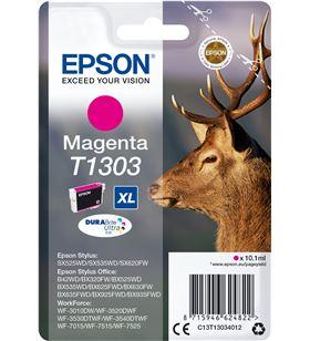 Cartucho tinta Epson t1303xl magenta - 10.1 ml - ciervo C13T13034012 - EPS-C13T13034012