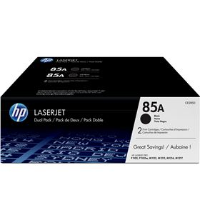 Pack 2 unidades toner negro Hp nº85a - 1600 páginas c/u - para laserjet p11 CE285AD - CE285AD